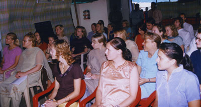 Swedish students in Trichy