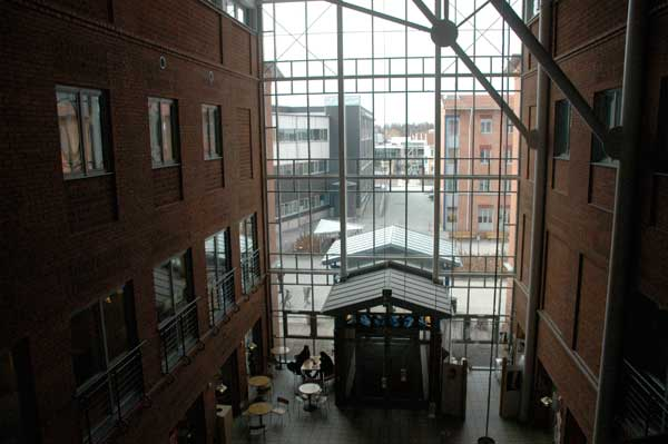 linnaeus university (kalmar växjö) location växjö